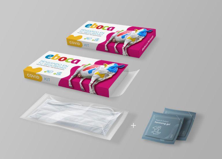 Eboca - Kit Covid packaging